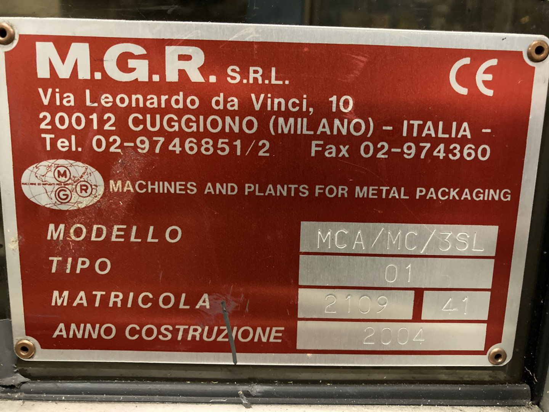 MGR MCA/ML/3SL curlingadora - engomadora
