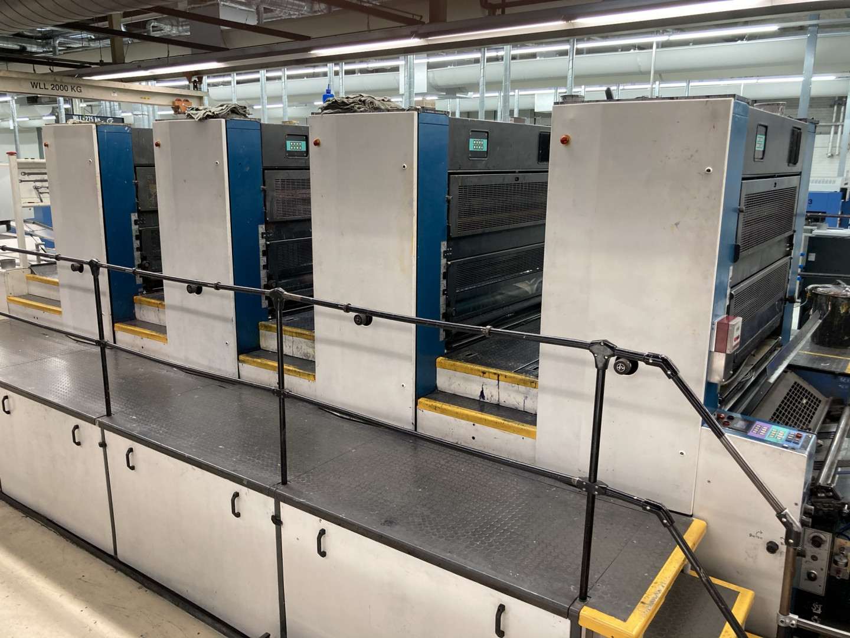 KBA METALSTAR type 2 printing presses 4C