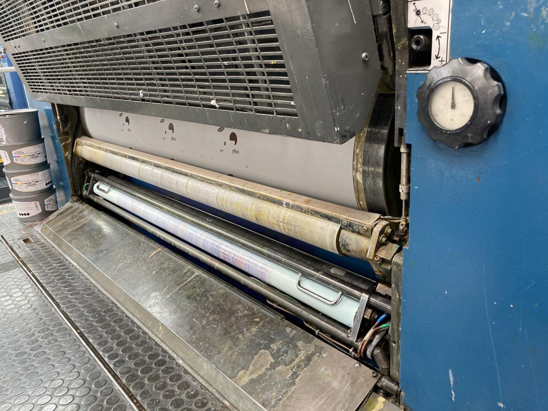 Automatic washing unit on each printing press