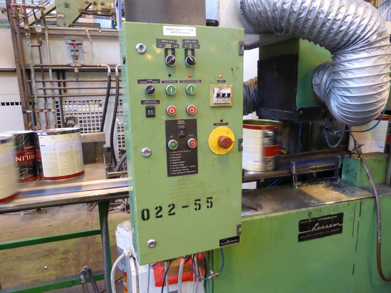 Larsen  lacquering unit