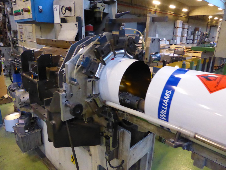 Soudronic Pollux VEAW-K 100 bodymaker welder