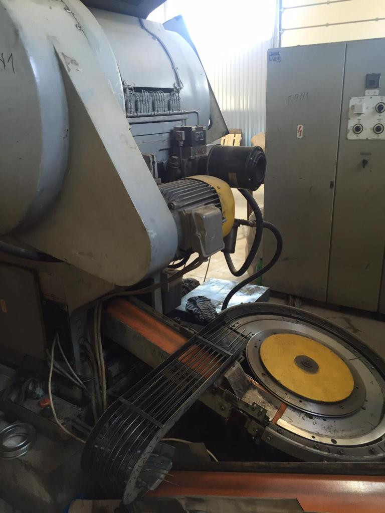 Blema PKXD 40.3-2 stripfeed press - disc curler