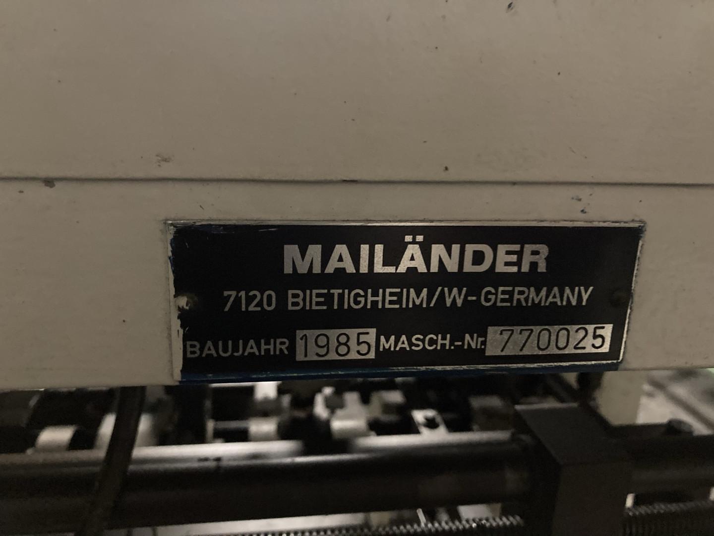 Mailander 770 sheet feeder