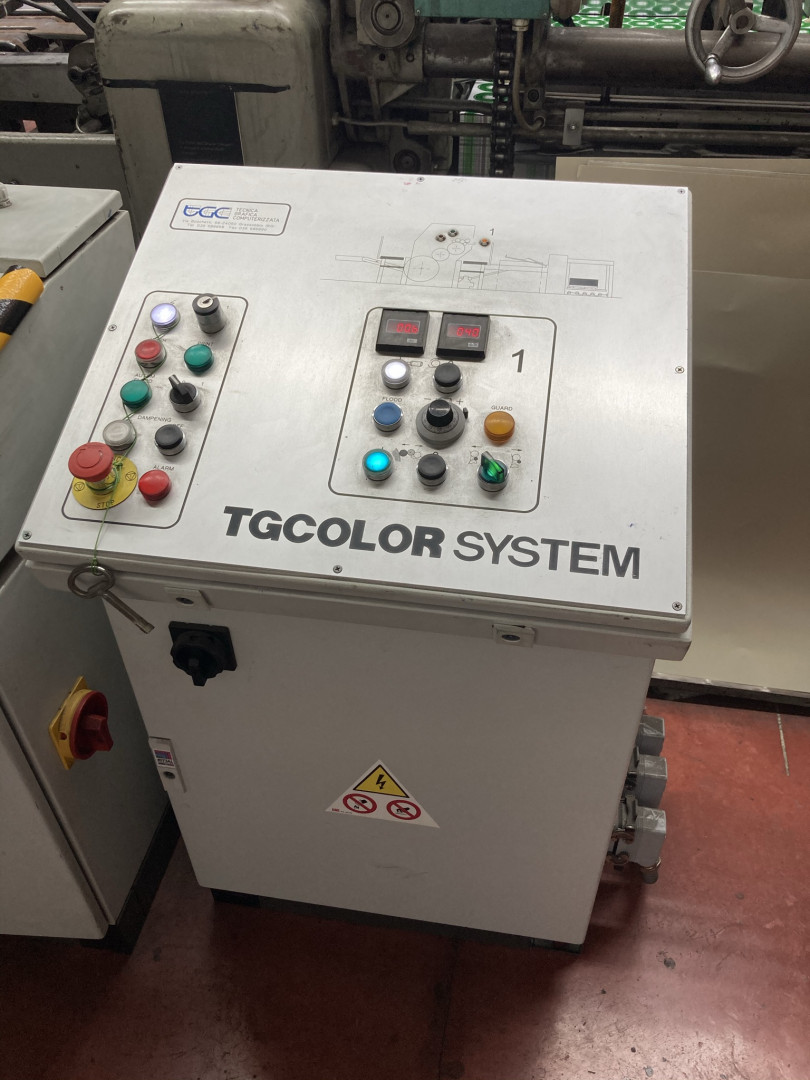 Mailander 169 1-colour UV printing line