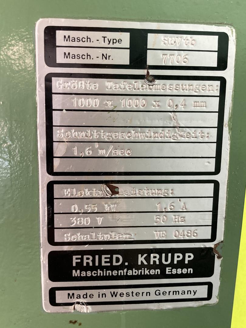 Krupp SEVtb single slitter