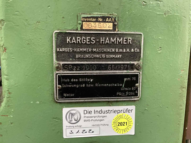Karges Hammer SPzz 1000 scroll shear - waxer