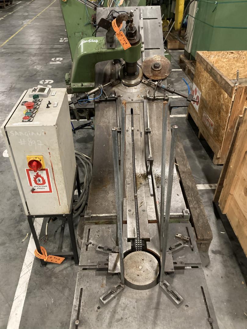 Sargiani S 894 curler - stacking unit