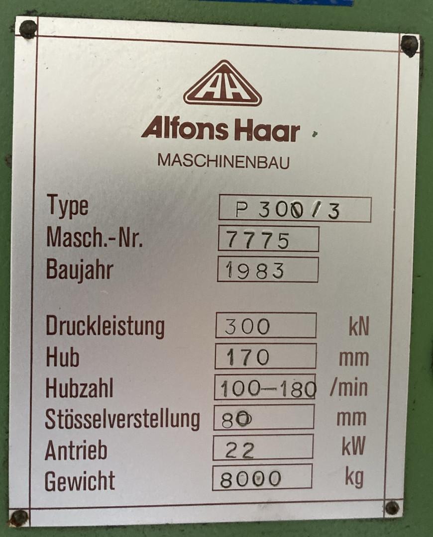 Alfons Haar AF-P30 sheetfeed press
