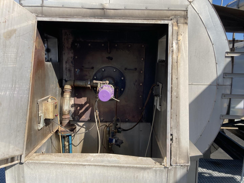 Mailander 431 coating line with 27 meter LTG tunnel-oven and afterburner