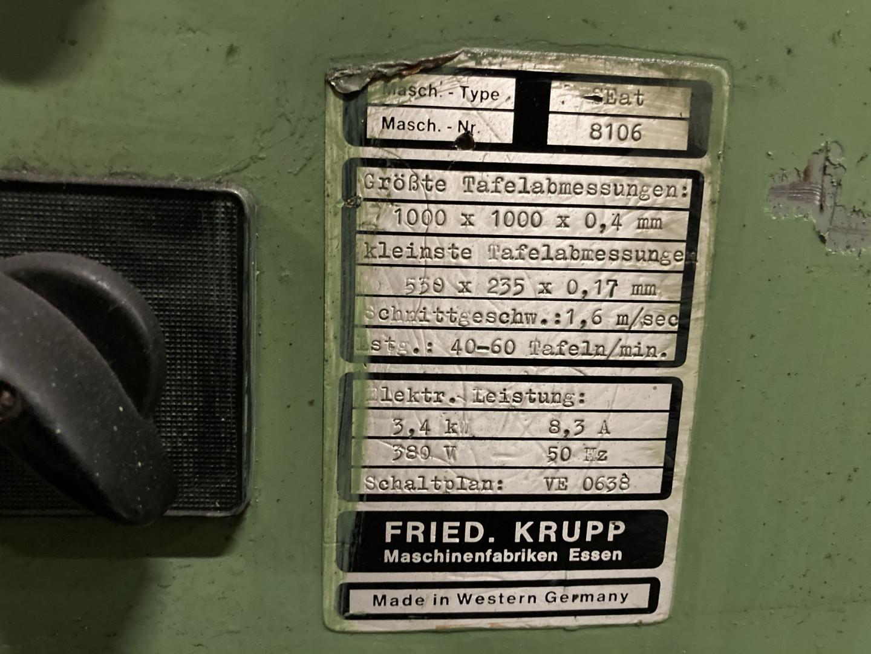 Krupp SS single slitter