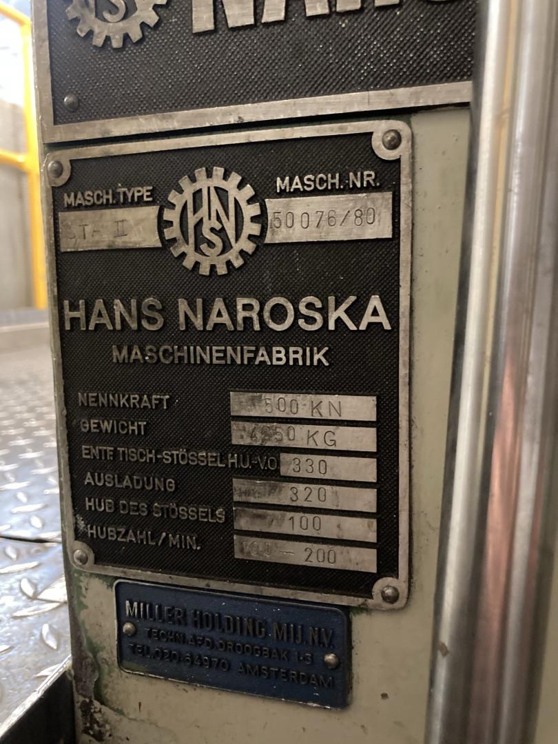 Karges Hammer / Naroska STA II endmaking