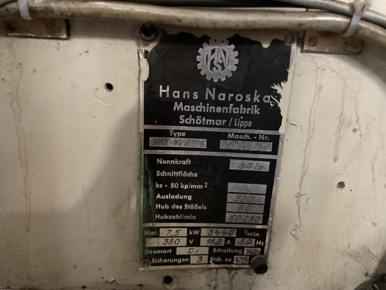 Mailander / Karges Hammer / Naroska STA II endmaking