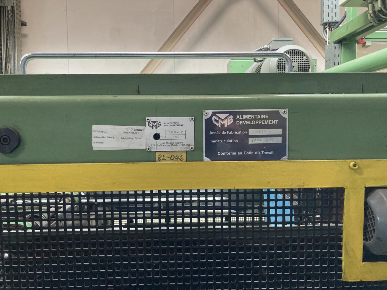 Mailander 430 coating line with 30 meter LTG tunnel-oven and afterburner