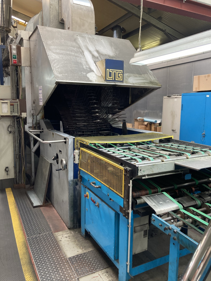Mailander 122A tandem printing line with LTG tunnel-oven