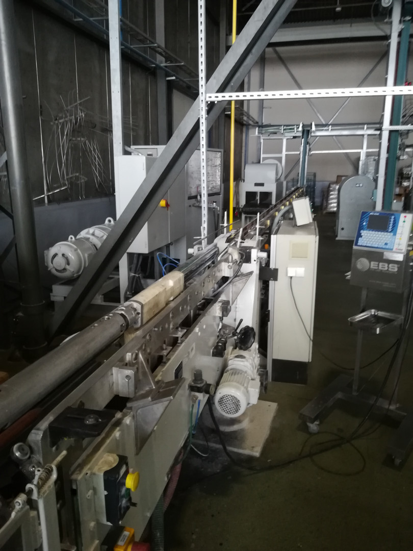Soudronic SBW 250 bodymaker welder - powder unit - curing oven