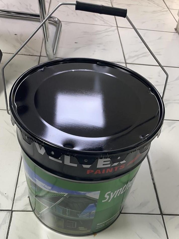 Production line for diameter Ø 292 mm conical pails