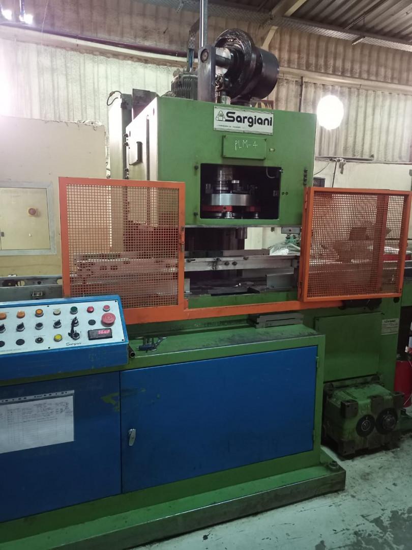 Sargiani S2012 R101 flanging machine