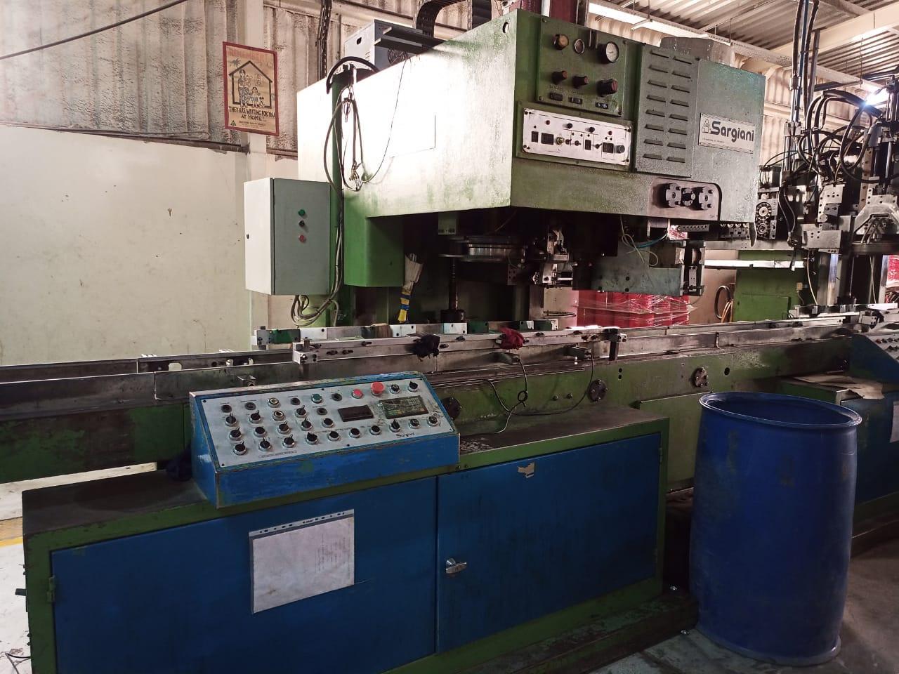 Sargiani S2012 PS01 earlug machine