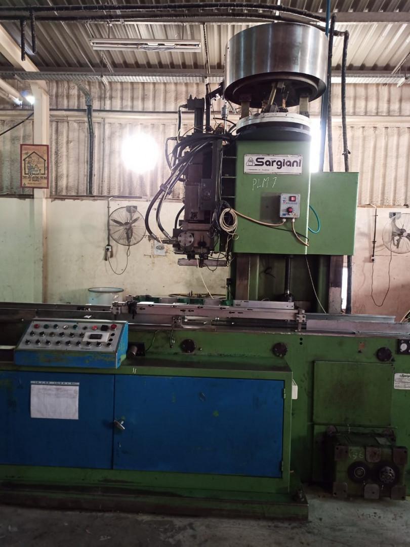 Sargiani S2012 M101 bailing machine