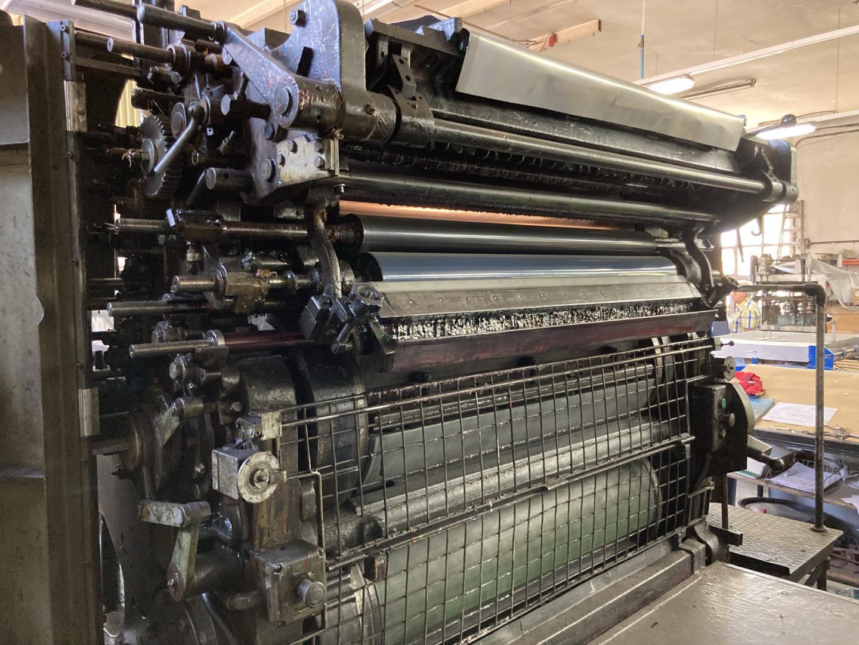 Crabtree 4036 offset printing - sheet feeder