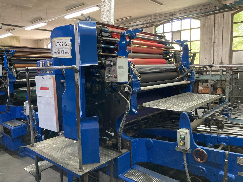 Crabtree Marquess 4036 línea de impresión UV tándem