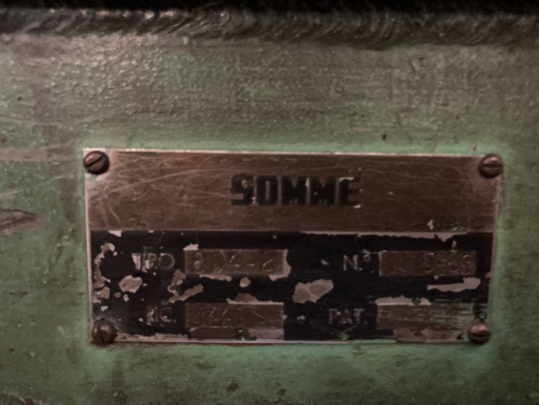 Somme 804-2 cizalla sencilla