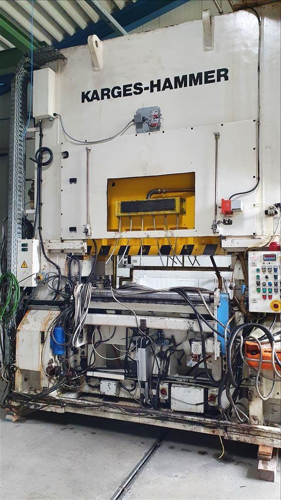 Karges-Hammer P11 prensa de hoja entera