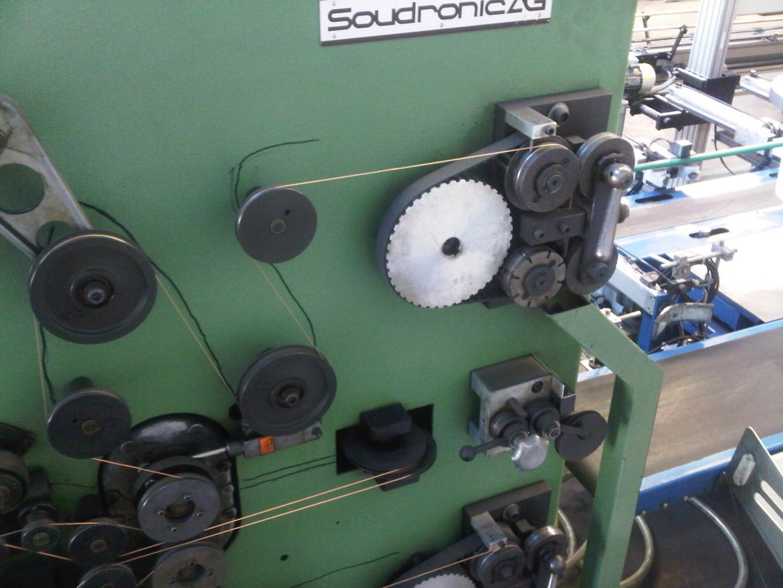 Soudronic NRZD 20 E soldadora de cuerpo